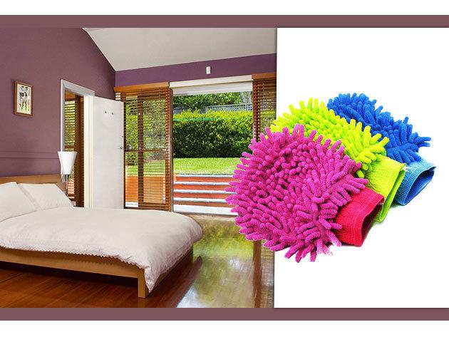 Mikroszálas kesztyű – tiszta otthon vegyszerek használata nélkül!