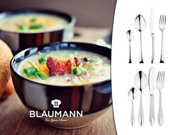 BLAUMANN 24 részes evőeszköz készletek elegáns dizájnnal!