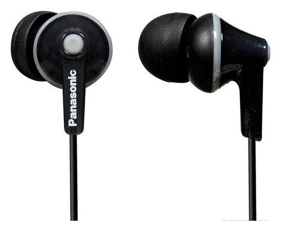 Panasonic hallójárati fülhallgató fekete színben