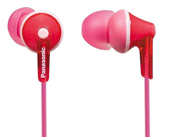 Panasonic hallójárati fülhallgató rózsaszínben
