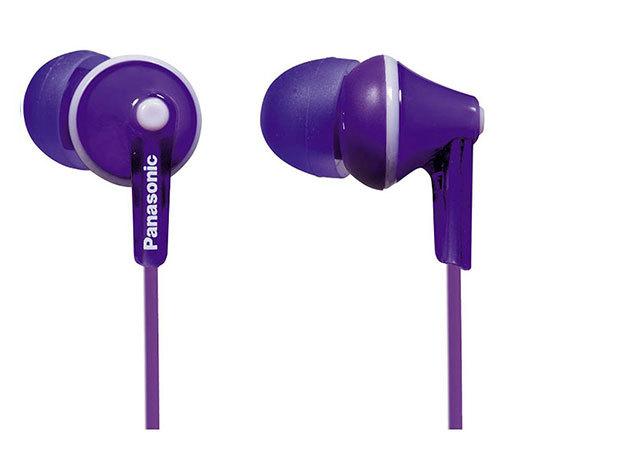Panasonic hallójárati fülhallgató lila színben
