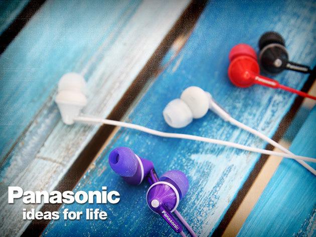 ERGOFIT kialakítású Panasonic hallójárati fülhallgatók az iPod nano színeiben!