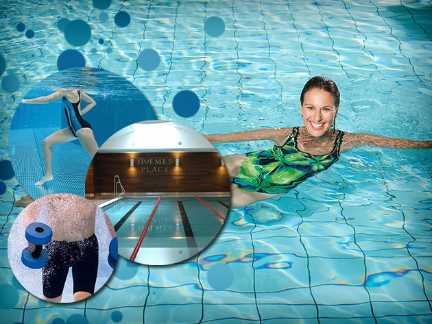 3 vagy 5 alkalmas aquafitnesz bérlet a Holmes Palace Gozsdu Klubba!