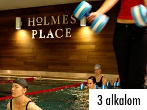 3 alkalmas Aqua fitnesz bérlet a Holmes Palace-ban