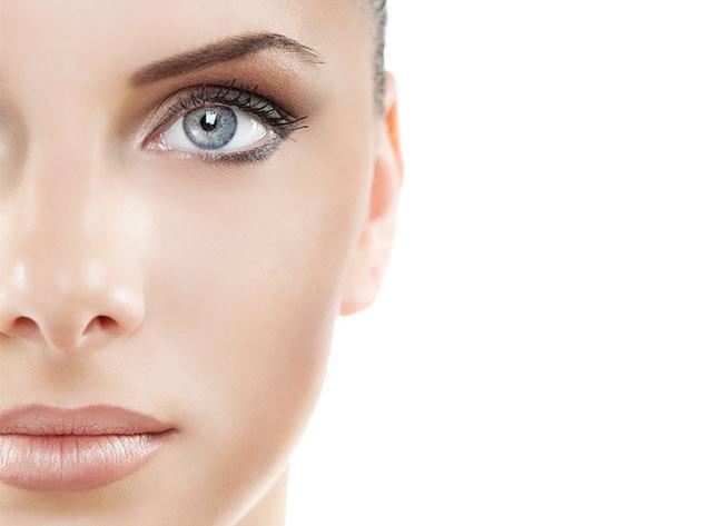 7 lépéses szépítő ultrahangos arckezelés hyaluronsavval, arc és dekoltázsmasszázzsal, tápláló pakolással és UV-szűrős nappali krémmel