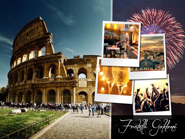 Szilveszter Rómában! 6 nap 5 éjszaka utazással, idegenvezetéssel, félpanziós ellátással, szilveszteri vacsorával!