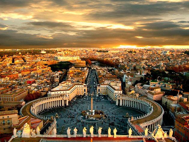 Szilveszter Rómában! 6 nap 5 éj utazással félpanziós ellátással, szilveszteri vacsorával