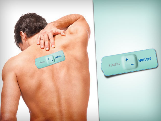 NoPain 3D™ fájdalomcsillapító TENS tapasz hát-, fej-, izületi- és menstruációs fájdalmakra!