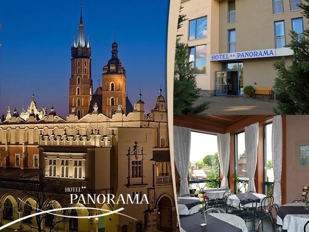 4 nap/3 éj 2 fő részére reggelivel Krakkóban: Hotel Panorama**