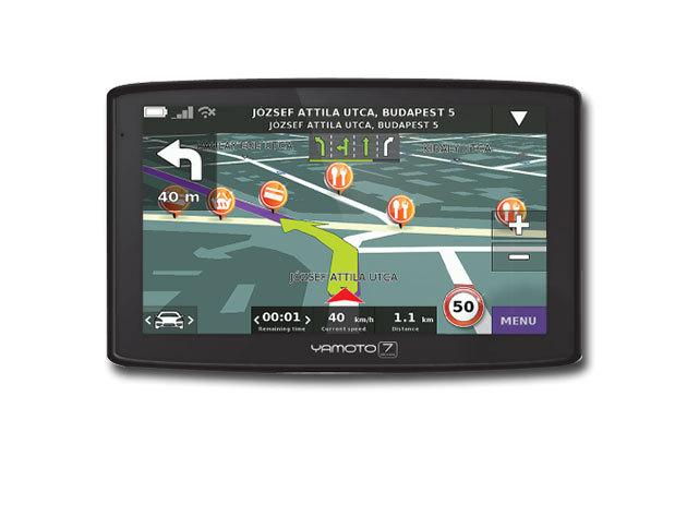 """Yamoto Seven Autós navigáció 7"""" kijelző - 2013-as modell"""