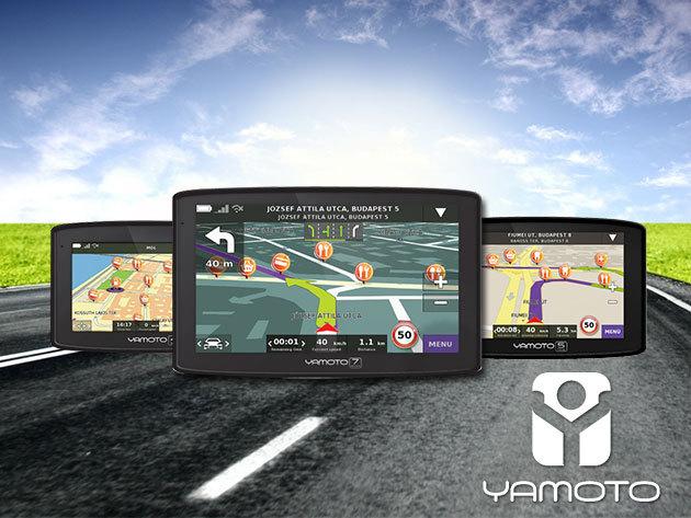 YAMOTO autós multifunkciós navigáció készülékek több méretben!