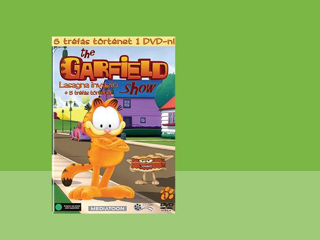 The Garfield Show 1.-es DVD - Lasagna invázió + 5 tréfás történet (0) - AZONNAL ÁTVEHETŐ