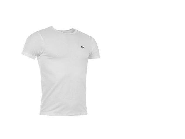Lonsdale Single férfi altéta póló - fehér