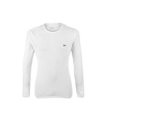Lonsdale Long férfi hosszú ujjú póló - fehér