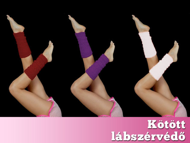 Kötött lábszárvédő / melegítő több színben – az egyik legpraktikusabb téli kiegészítő!