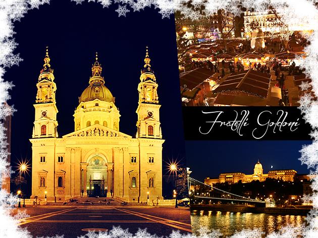Budapesti adventi forgatag - utazással, pezsgővel és esti színházi előadással!
