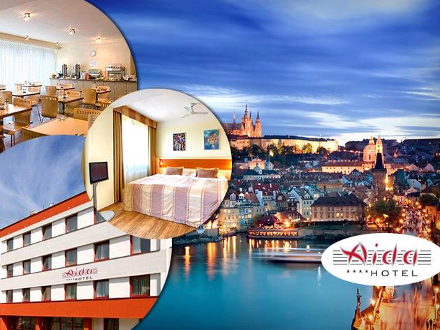 Irány Prága! Hotel AIDA**** ősz-tél 2013/14 - 3 nap/2 éj, vagy 4 nap/3 éj 2 főre reggelivel!