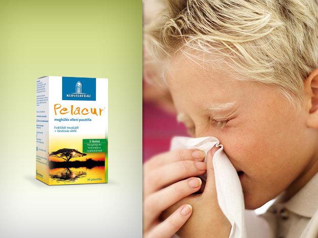 Pelacur® pasztilla gyógynövények erejével meghűlésre