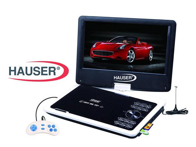 """Hauser hordozható DVD lejátszó 7"""" vagy 9"""" kijelzővel – kikapcsolódás akár útközben is!"""