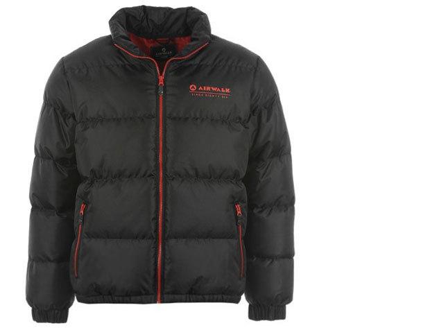 Airwalk Bubble férfi téli kabát - fekete