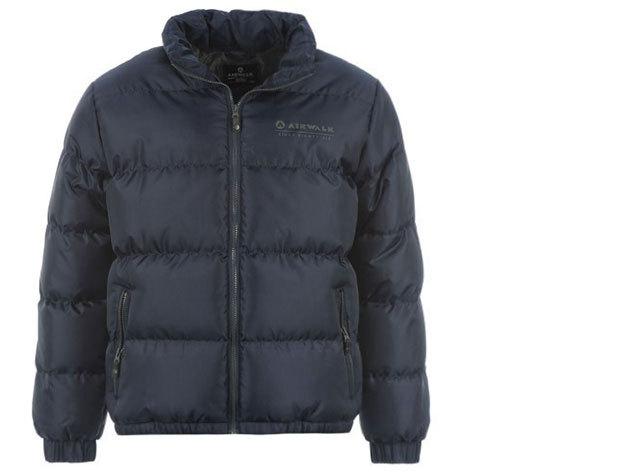 Airwalk Bubble férfi téli kabát - sötétkék
