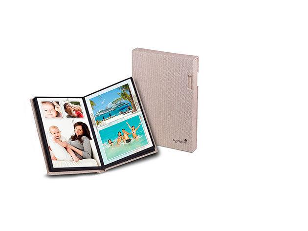 Mitsubishi Fotóalbum ajándék 20db 10X15 fotónyomtatással beige