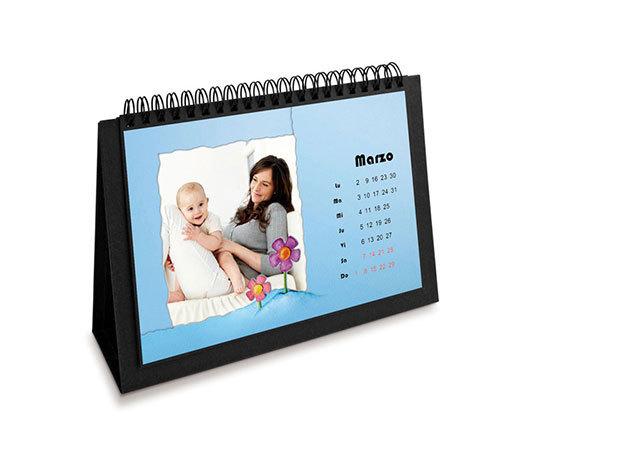 Mitsubishi Naptár ajándék 12 oldalas havi naptár nyomtatása 12db 10X15 fotónyomtatással