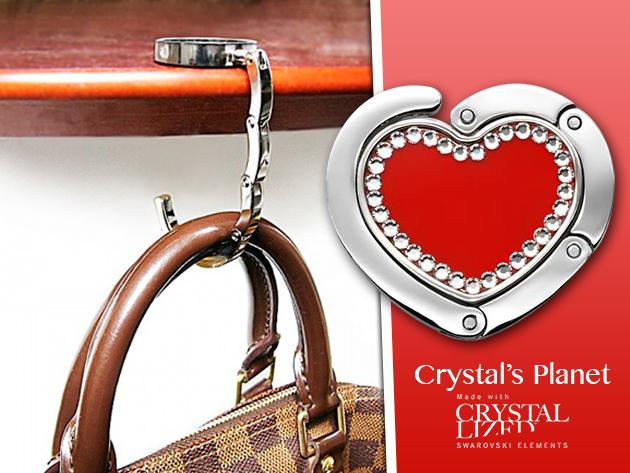 Swarovski kristályokkal díszített különleges táskatartó ékszerek - elegancia és praktikum!