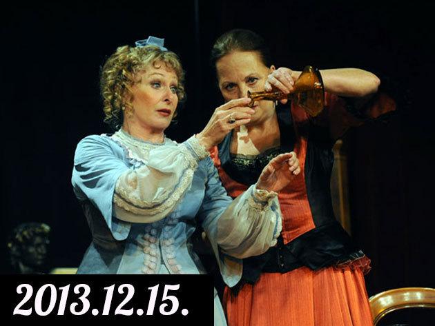 Rita Zimmer - Wolfgang Kohlhaase: Hal négyesben  2013.12.15. előadás