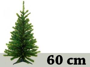Zöld, rövid tűlevelű, tömött (60 cm)