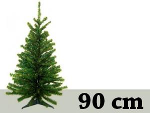 Zöld, rövid tűlevelű, tömött (90 cm)