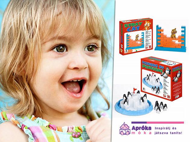 Társasjátékok a kicsik és a nagyok örömére az AprókaMóka Webáruház jóvoltából!