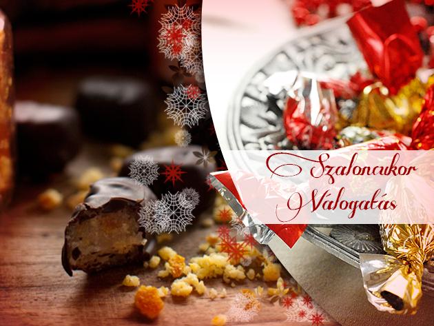 Csokis, marcipános Vadász szaloncukor, illetve alkoholmentes és alkoholos szaloncukor-válogatások!