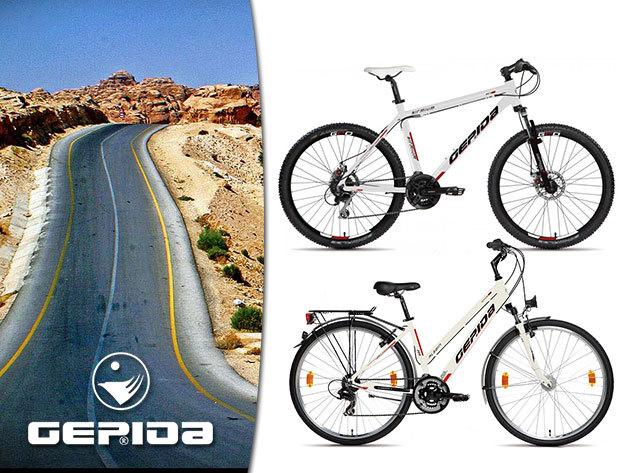 GEPIDA kerékpárok Kryptonite U-lakattal, átvizsgálással, 5.000 Ft kezdőrészlettel!