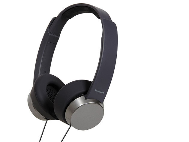 Panasonic - fejhallgató mikrofonnal és távirányítóval (Fekete)