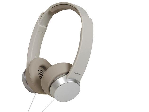 Panasonic - fejhallgató mikrofonnal és távirányítóval (Fehér)