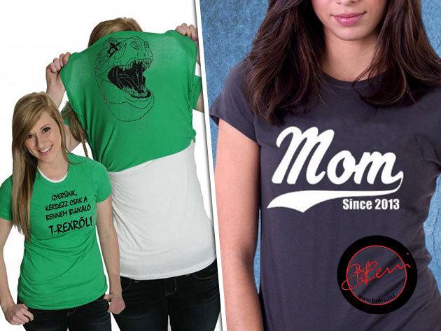 Mókás és megható pólók karácsonyra gyerekeknek, nőknek és férfiaknak!