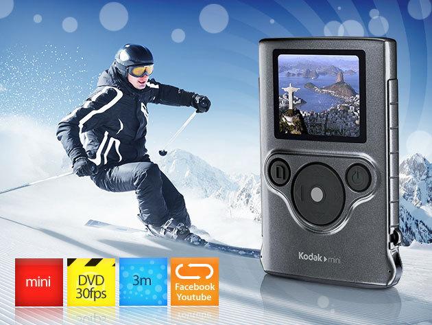 Vízálló, strapabíró kamera - Kodak ZM1 mini Pouch Case tokkal 11.490 Ft-ért!