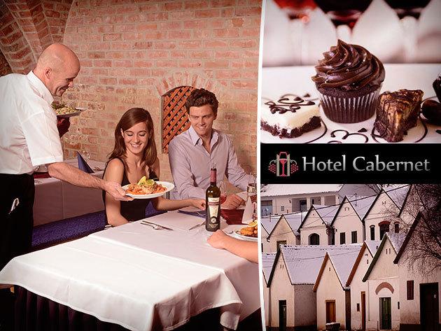 Hétvége a Csokoládé-Bor és Wellness jegyében a Villányi Borvidéken - Hotel Cabernet*** 3 nap/2 éj 2 fő részére