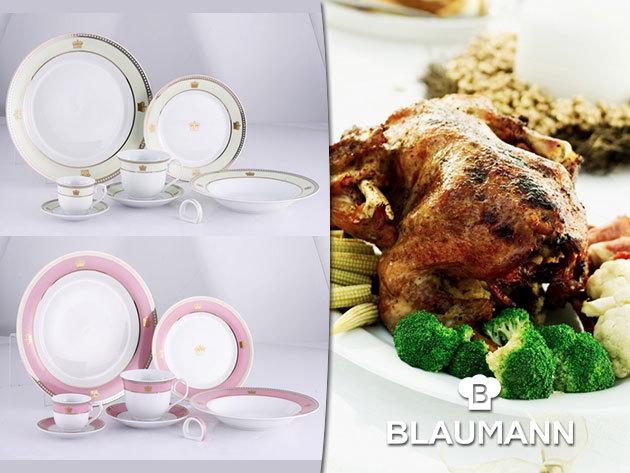 57 részes exkluzív porcelán étkészletek karácsonyra, a Blaumanntól!