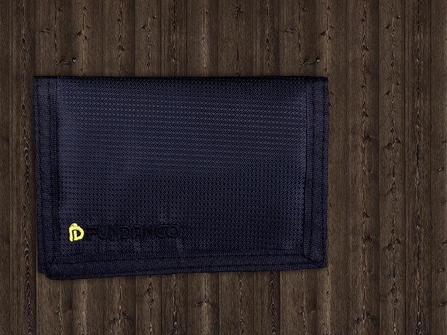 Fekete Fundango pénztárca (9EH211 890)