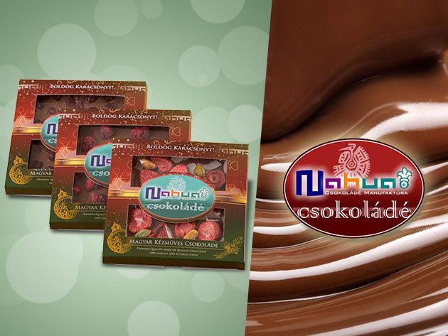 Kézműves, cukormentes csokoládé csomag különleges ízekben, belga alapanyagokból!