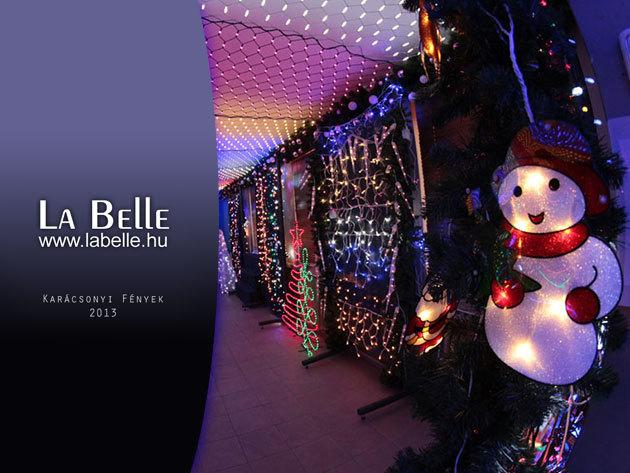 Minőségi kültéri LED fényfüzérek több színben és méretben a La Belle-től!