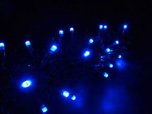 Kültéri LED fényfüzér (10m)