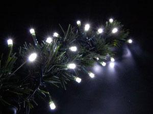 Kültéri vezérelhető LED fényfüzér (12m)