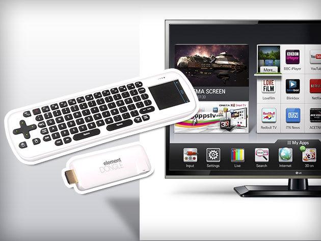 Sencor ELEMENT SMART DONGLE – élvezd az okostelefonok előnyeit a TV-ben!