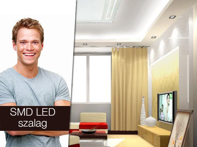 Por- és páraálló, hajlékony beltéri RGB LED szalag szettek!