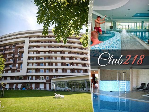 Club218 - wellness üdülés Siófok Aranyparton, 4 nap/3 éj, 2-6 fős balatoni panorámás apartmanokban!