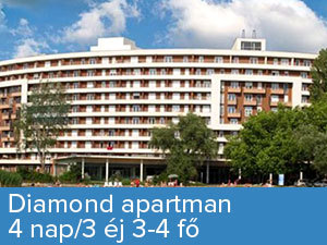 4 nap/3 éj3-4 fő Diamond apartmanban