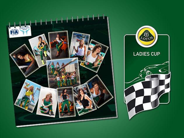 Falinaptár - meglepetés a Lotus Ladies Cup versenyzőitől!